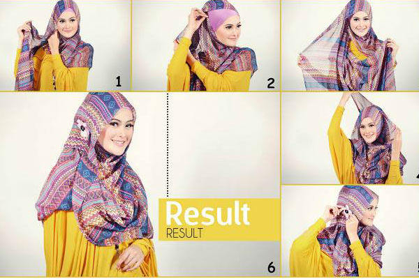 how to tie a hijab in easy and stylish way hijabi woman