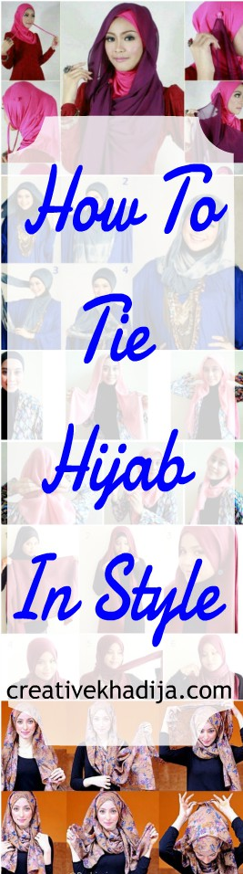 how to tie a hijab in style