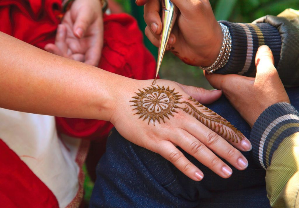 Do you know about South-Asian girls Mehndi Party?