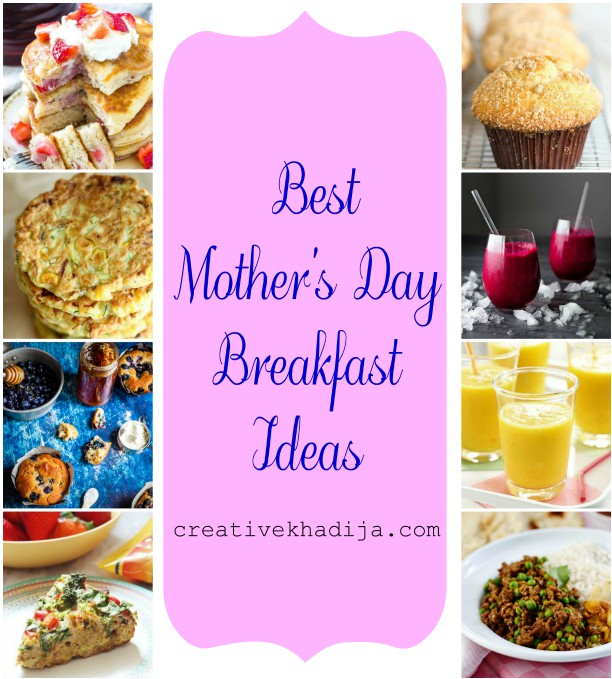mother's day breakfast healthy recipes ideas
