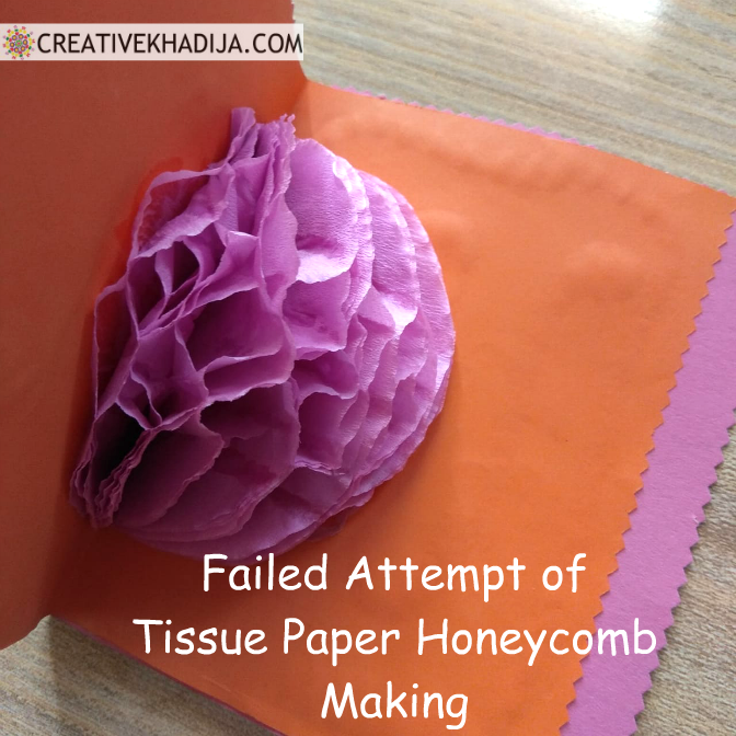 How To Create a Honeycomb & How to avoid Craft Fail