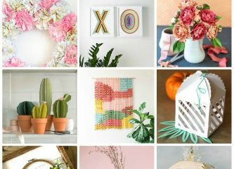 40 Best and Unique Paper Crafts for Home Decoration