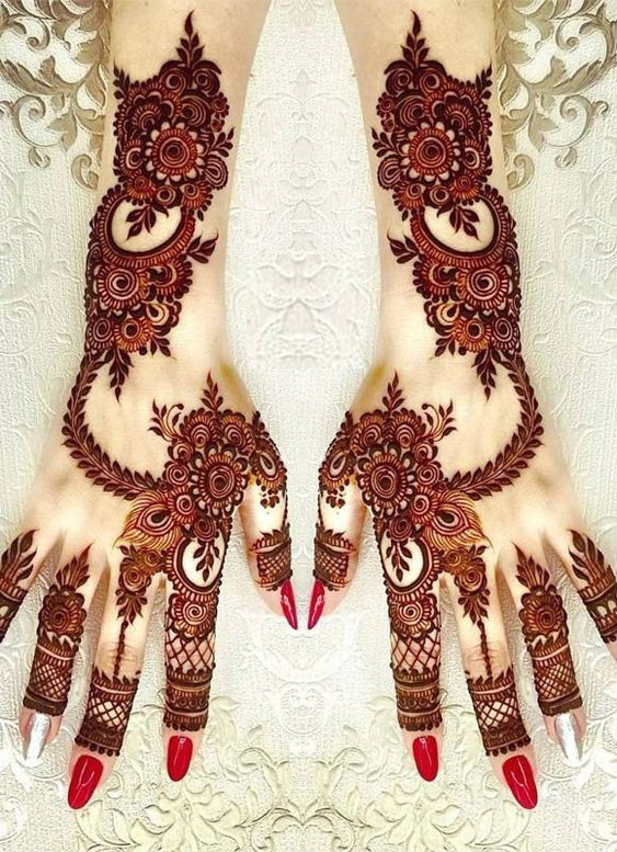 latest mehndi designs for girls bridal henna designs inspirations 6