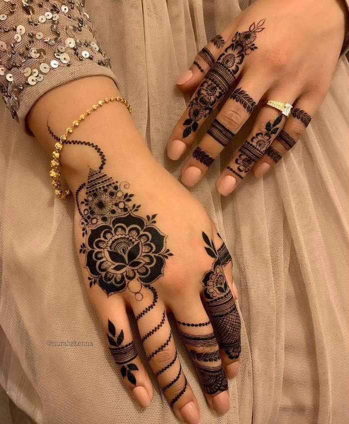 latest mehndi designs for girls eid mehndi designs 13