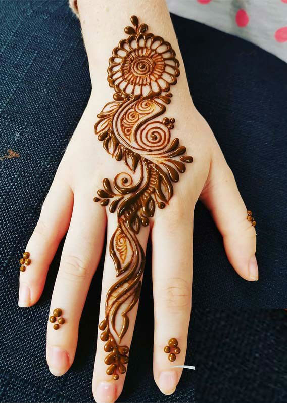 latest mehndi designs for girls eid mehndi designs 14