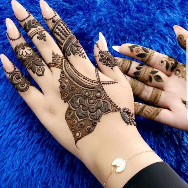 latest mehndi designs for girls eid mehndi designs 15