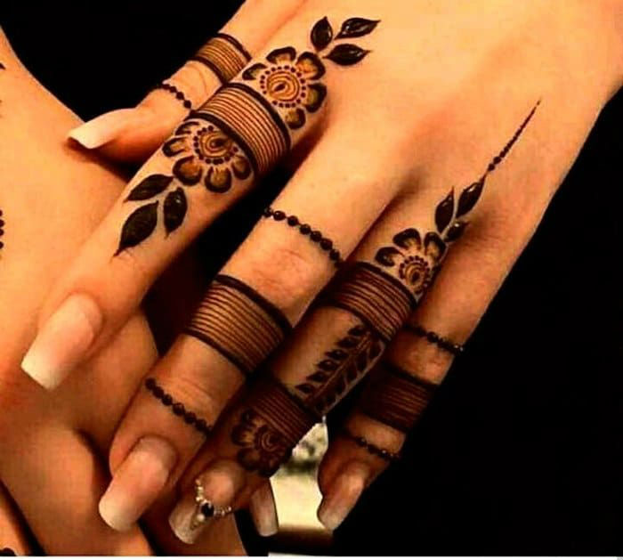 latest mehndi designs for girls eid mehndi designs 7