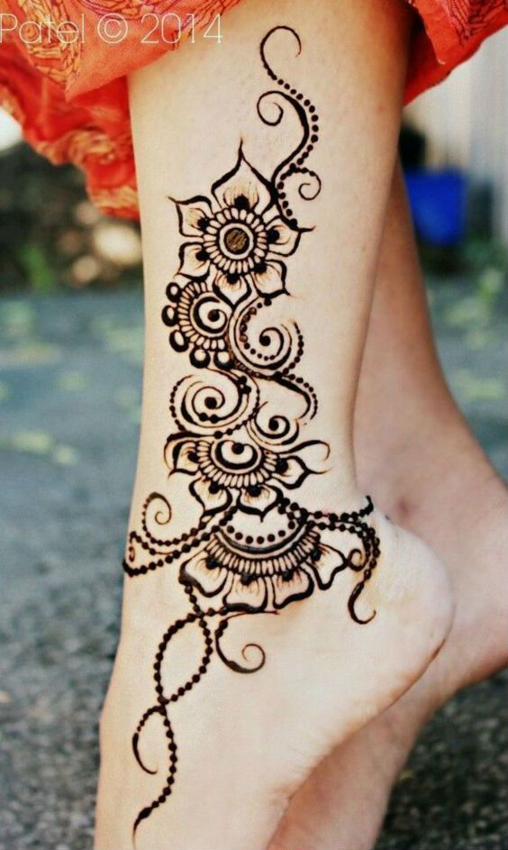 latest mehndi designs for girls henna body art 1