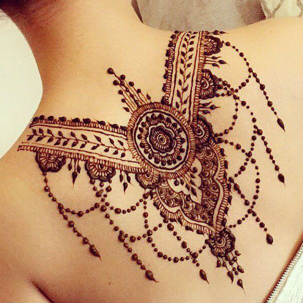 latest mehndi designs for girls henna body art 4