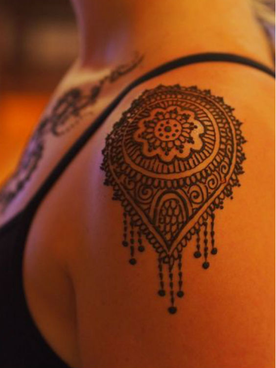 latest mehndi designs for girls henna body art 5