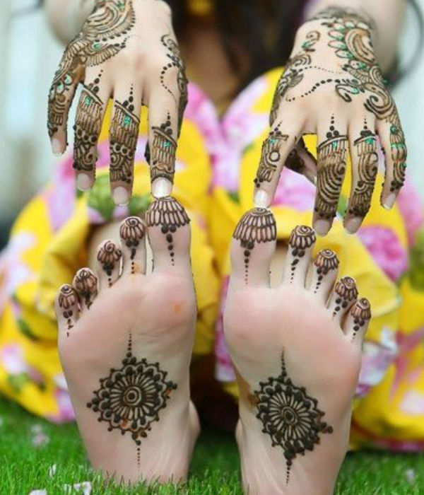 latest mehndi designs for girls mehndi designs for sole 4