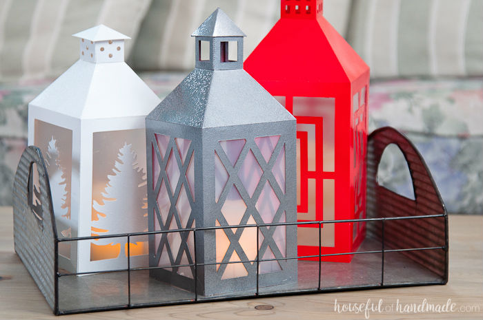 paper crafts for home decoration Christmas paper lanterns