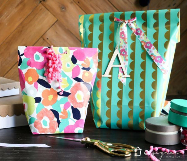 paper crafts for home decoration gift bags