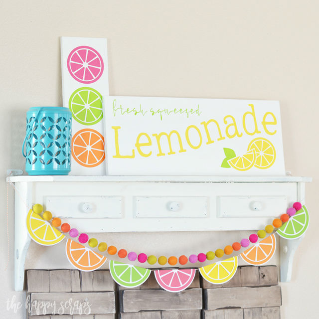 paper crafts for home decoration citrus garland