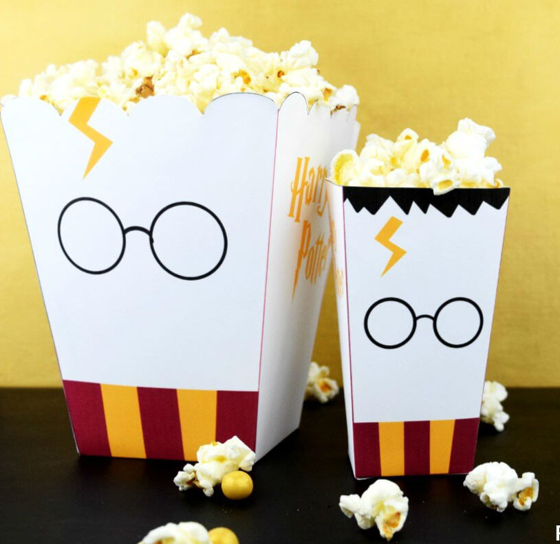 paper crafts for home decoration popcorn boxes