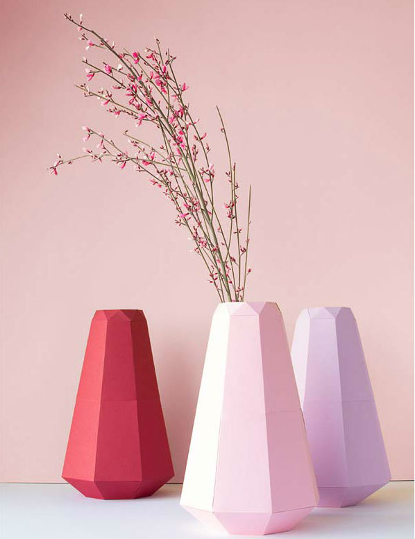 paper crafts for home decoration paper vases