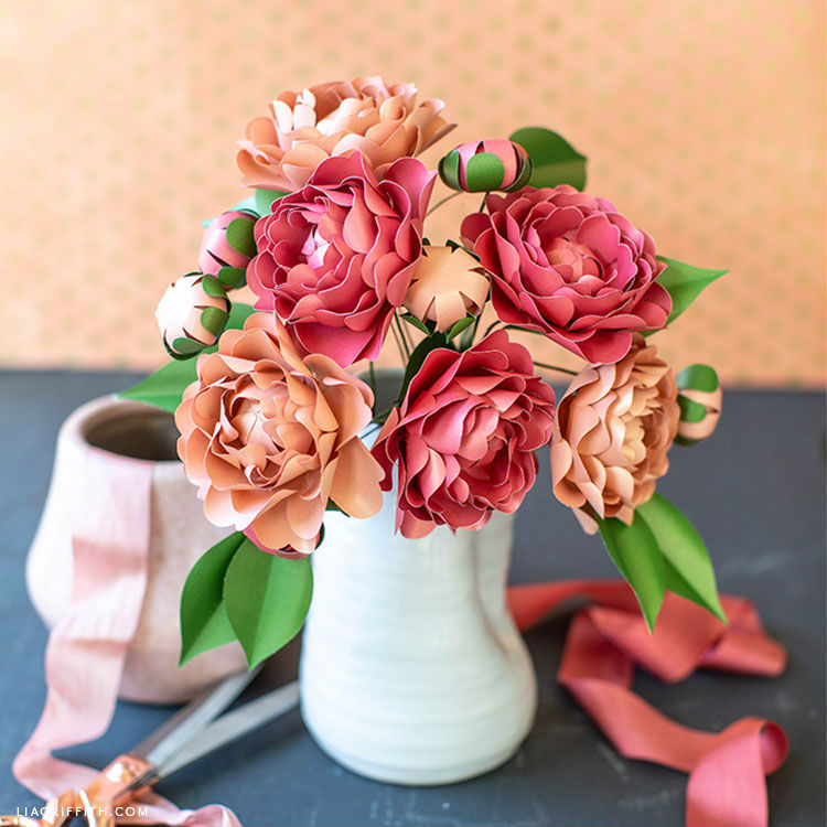 paper crafts for home decoration flower bouquet