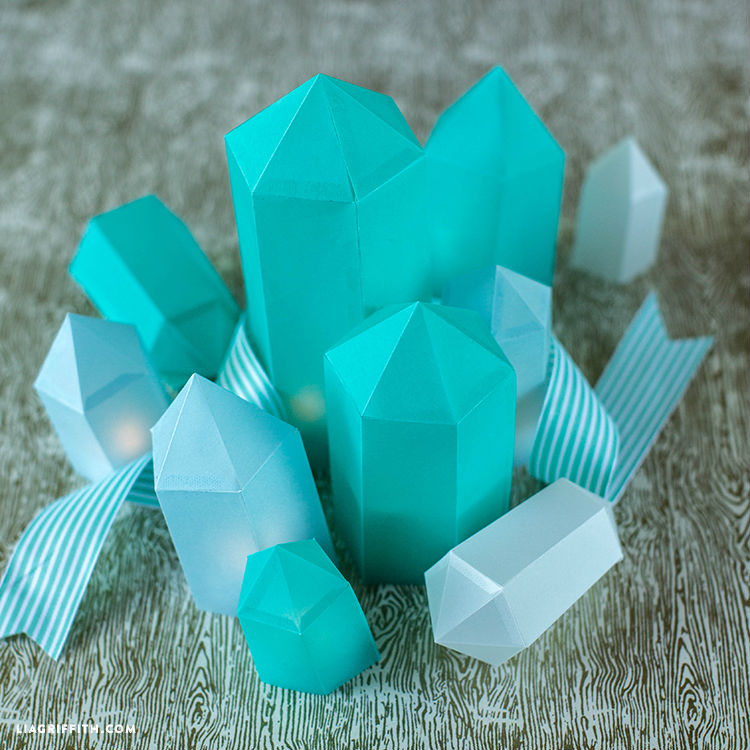 paper crafts for home decoration origami gems