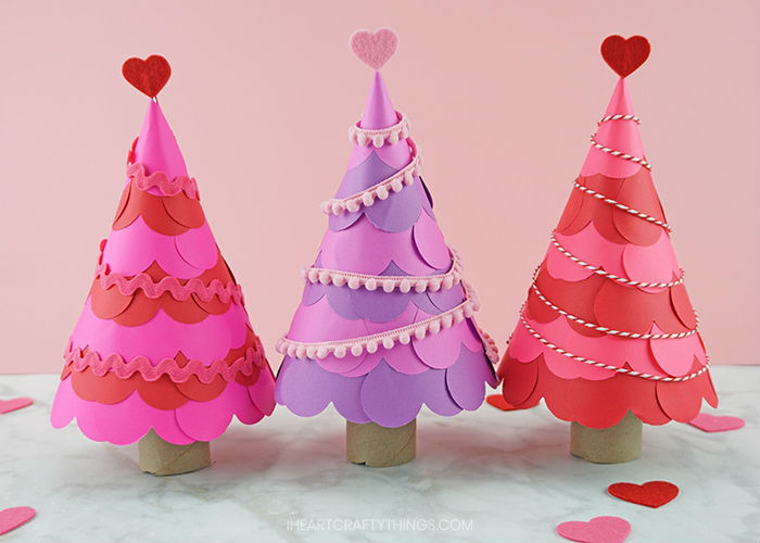 paper crafts for home decoration heart tree craft