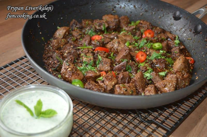 offal recipes for eid adha kaleji masala