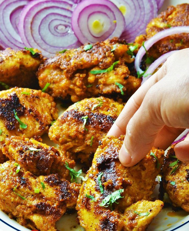best and easy bbq recipes to try this eid ul adha achari chicken tikka