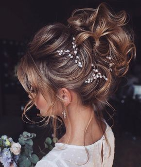pearl hair pins with updo hairstyles 1