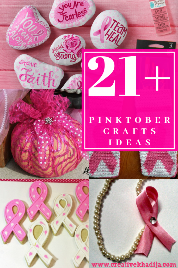21 Easy Crafts For Pink Ribbon Breast Cancer Awareness Month