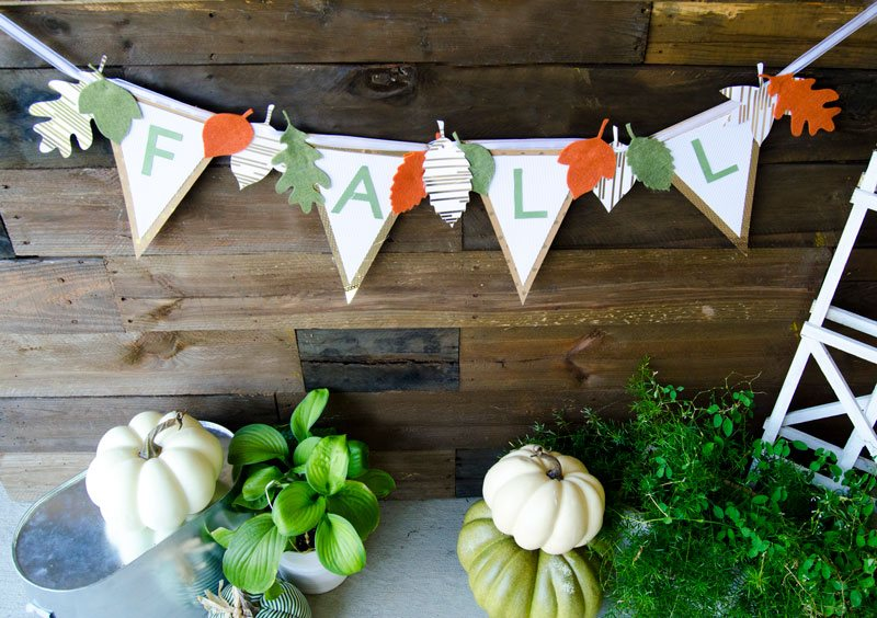 best fall banner and garland ideas from pinterest fall banner