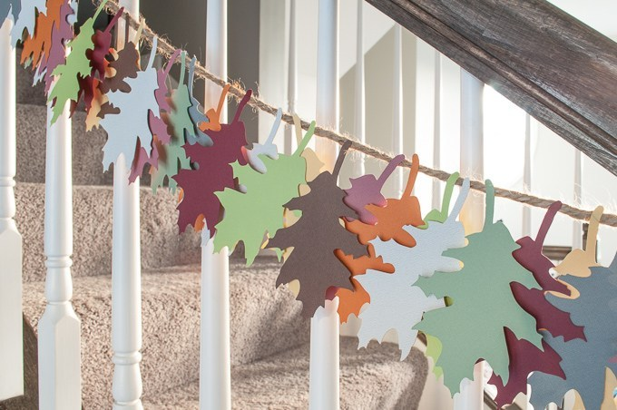 best fall banner and garland ideas from pinterest autumn leaves banner