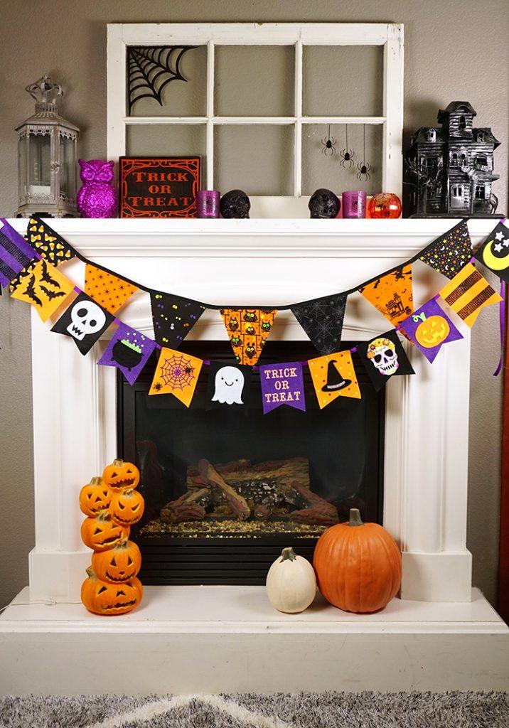 best fall banner and garland ideas from pinterest felt halloween banner