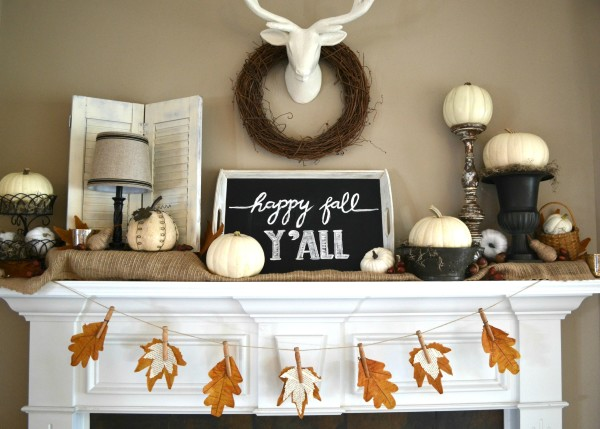 best fall banner and garland ideas from pinterest fall leaves banner