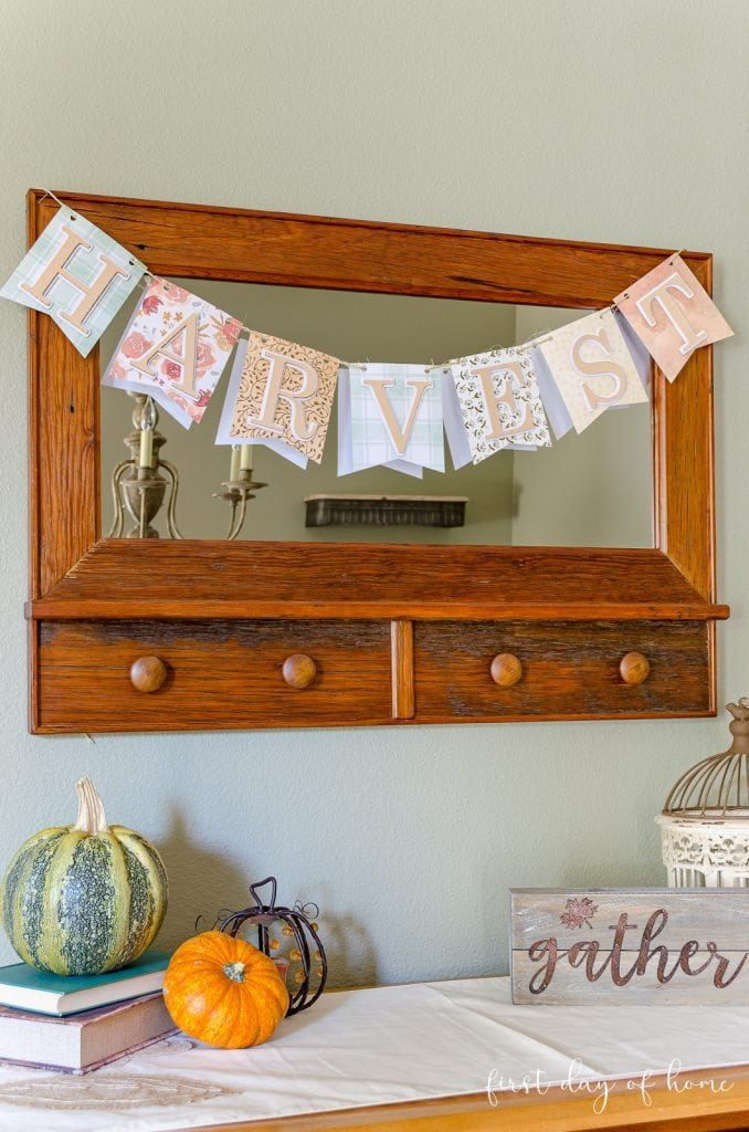 best fall banner and garland ideas from pinterest fall pennant banner