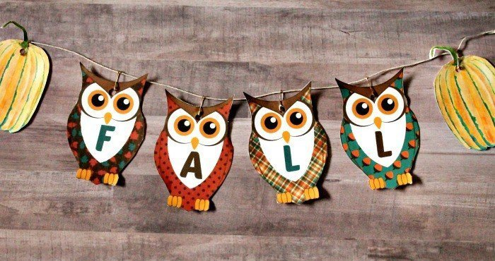 best fall banner and garland ideas from pinterest owl fall banner
