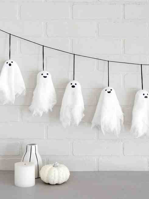 best fall banner and garland ideas from pinterest ghost banner