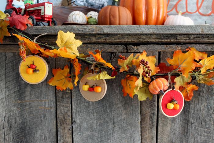 best fall banner and garland ideas from pinterest pumpkin hoop banner