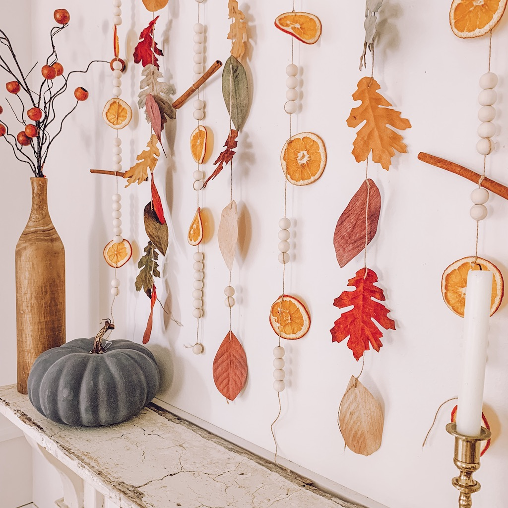 best fall banner and garland ideas from pinterest vibrant fall garland