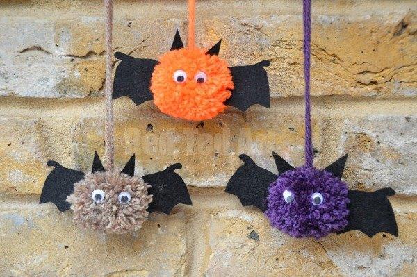 best fall banner and garland ideas from pinterest pom pom bats garland