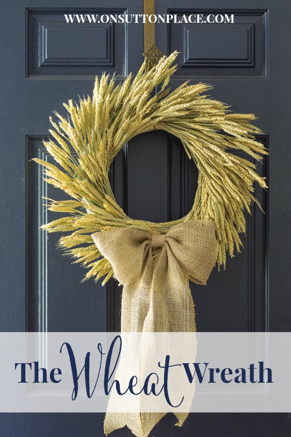 best fall banner and garland ideas from pinterest wheat wreath