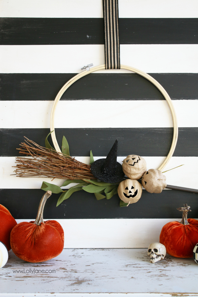 best fall banner and garland ideas from pinterest halloween wreath