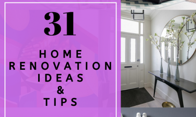 31 Home Renovation Ideas Which you can Do It Yourself