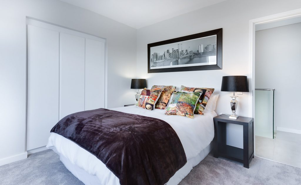 home renovation ideas color to the bedroom