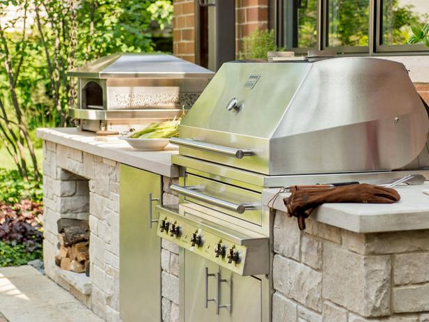 home renovation ideas grill area