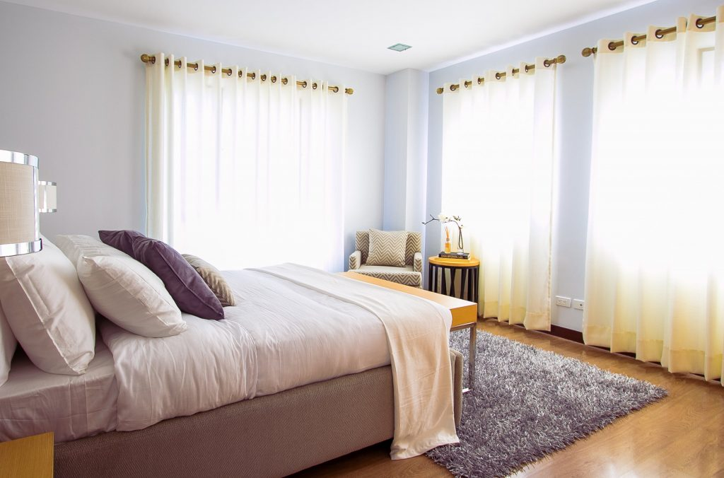 home renovation ideas change curtains and rug