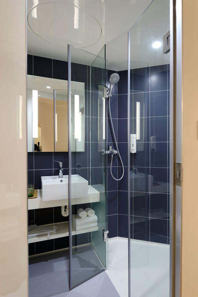home renovation ideas add glass shower