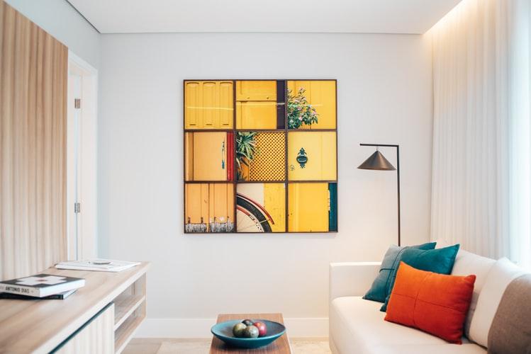home renovation ideas add artwork