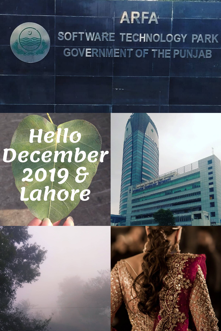 Hello December 2019 and Winter in Lahore