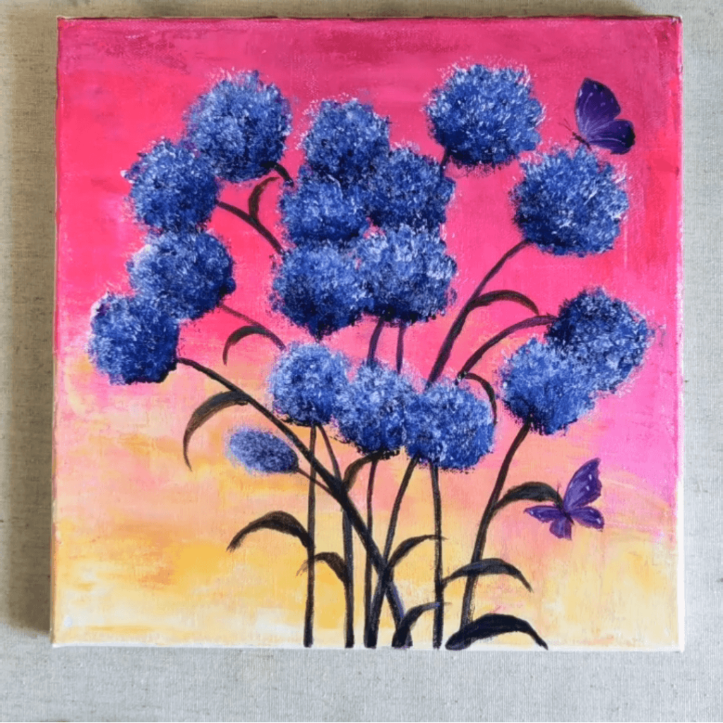 easy canvas art ideas for beginners