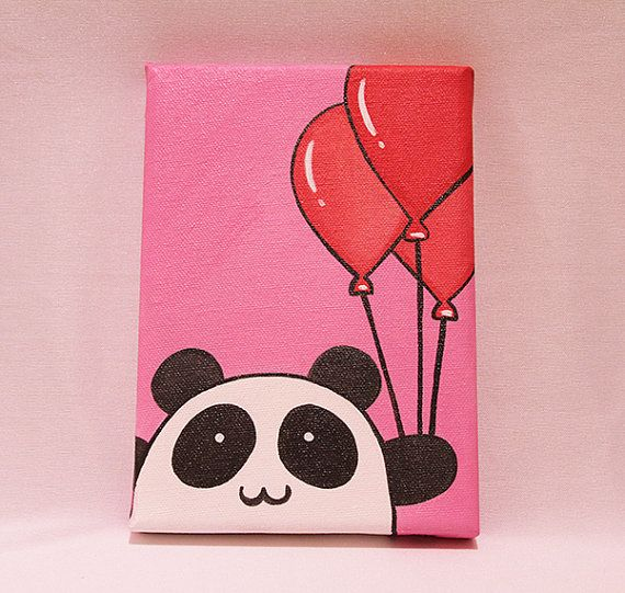 how to paint pink panda