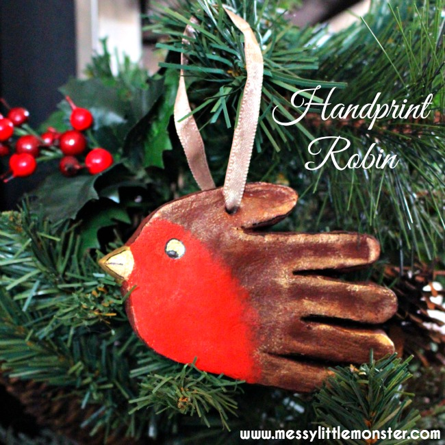 how to make salt dough ornaments and decorations robin ornament