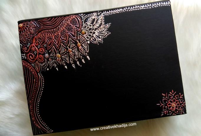 creative ideas using henna patterns in crafts black box